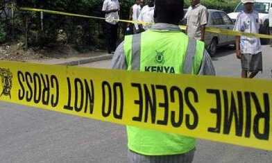 POLICE KILLS A MAN IN NAIROBI FOR PROTECTING HIS LITTLE SISTER.
