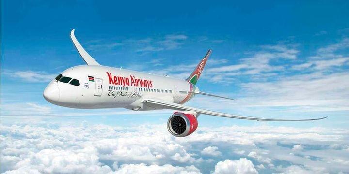TWO GERMAN FIGHTER JETS INTERVENE ON A KENYA AIRWAYS FLIGHT